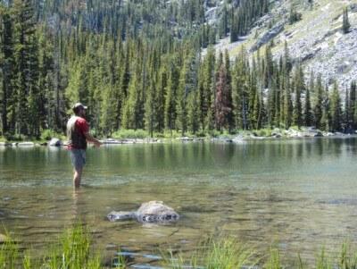 Fishing High in Idaho