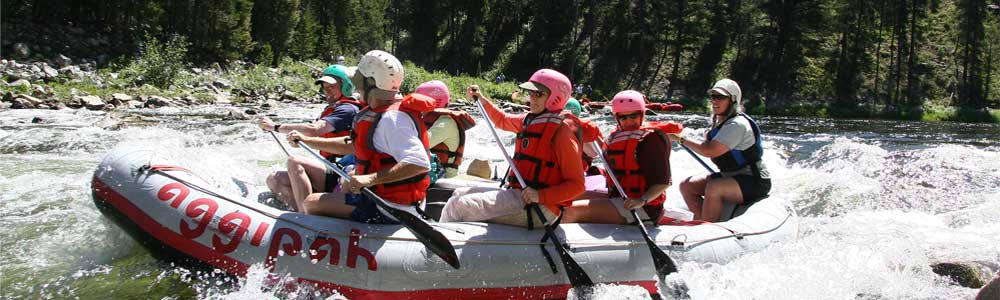 Middlefork Whitewater Rafting