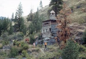 """Explore Buckskin Bill's """"Castle"""" right off the Salmon River"""