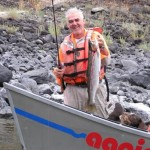 Steelhead and a smile! Idaho fishing with Aggipah River Trips