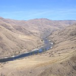 Breathtaking view of the Lower Salmon River in Idaho