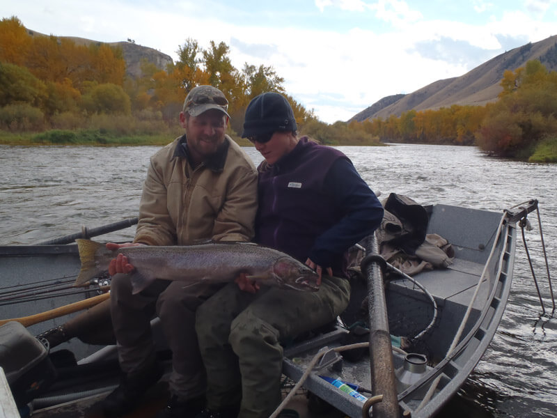 Best time to steelhead fish idaho 39 s salmon river near for Best fishing days