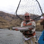 Great day for Idaho fishing for steelhead with Aggipah River Trips