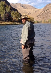 Todd Lansing, Spey-only Salmon River steelhead guide.