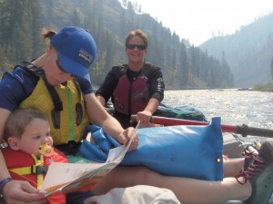 Bringing kids on river trips is great, but requires extra preparation.