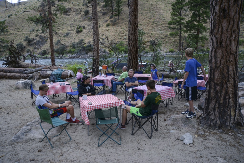 Salmon River dining
