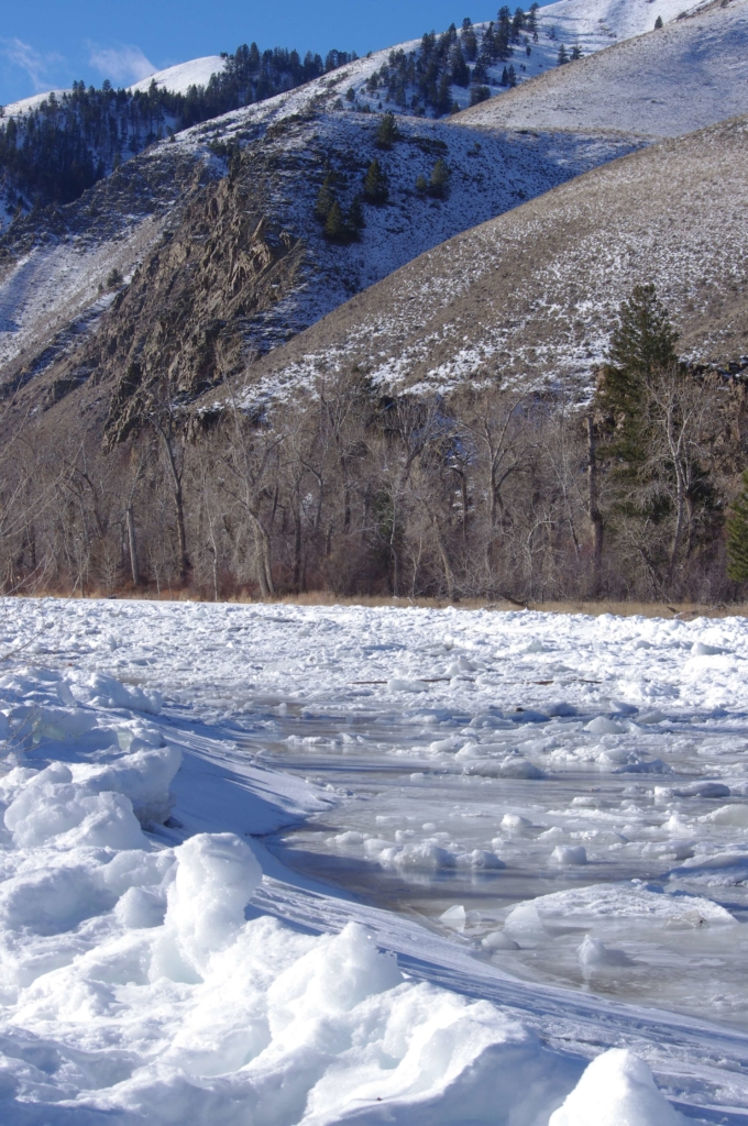 Salmon River Ice Jam